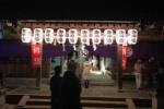 拝殿がフルオープン!私市の天田神社の初詣(深夜)はこんな感じ!〜おみくじや焚き火もあり厳かな雰囲気〜