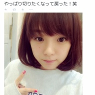 篠崎愛、髪ばっさりカットでショートに。「天使!」とファン絶賛www【セクシーエロエロ画像&GIFあり】 アイドルファンマスター