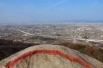 交野市でもっとも天空に近い場所。『交野山』に境界線ができてる!~ここから先には行ったらダメよのレッドライン~