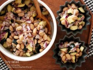 【レシピ】いくらでも食べれてあると便利♪大豆とツナの作り置きサラダ♡