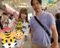 【画像】阪神・ヤンキース・オリックスなどで活躍した井川慶さん、美少女とツーショット