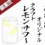 『「クラフトレモンサワーが飲めるバーを大阪に開業したい!」クラファン募集』の画像