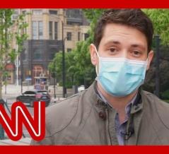 「CNNリポーター、撮影中だけマスクしてる様子を盗撮されててワロタ」