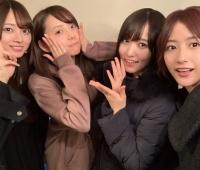 【欅坂46】土生ちゃん・ゆっかーが乃木坂の新内眞衣さん梅澤美波さんと鍋会!