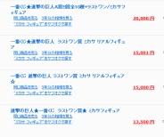 一番くじ「ラストワン賞 ミカサフィギュア」がオークションで高騰!