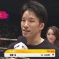 【RIZIN.24】昇侍を1RでKOした朝倉海「次は年末、状態が万全なら堀口選手と」