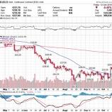 『【米国株の暴落】金と金鉱株は長い眠りから覚めるか』の画像