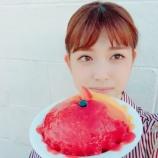 『【乃木坂46】松村沙友理 ハワイの巨大かき氷w オフショット動画が公開!!!!』の画像