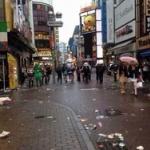 【衝撃】ハロウィン後の渋谷にゴミの山