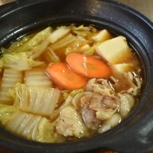 水から作る♪豚肉の炒め鍋
