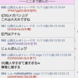 『SQ値速報 2016ー11月限SQ』の画像