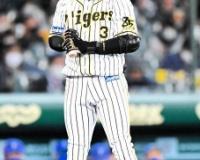 阪神・大山 本塁打タイトルならず 最終戦は3打数無安打 116試合 .288   28本 85打点 1盗塁