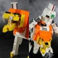 レゴで変形合体ガオガイガー(ギャレオン/ガイガー編)