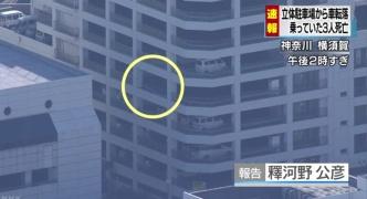 【画像】 立体駐車場から車が転落 ぺちゃんこに 男女3人タヒ亡