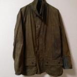 『【キャンプ】バブアーのジャケットを修復』の画像