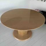 『高松市に松創・バーズアイメープルミガキ仕様のダイニングテーブル・エルテNo.4を納品』の画像