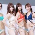 【動画】✔ 熊江琉唯:女性モデルと華やか水着ショー バンドゥビキニなどトレンド水着披露 ✔