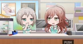 【ガルパ☆ピコ】第15話 感想 リサとモカのバイト時間