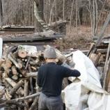 『薪作り三昧の日々』の画像