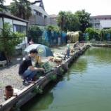 『7月の釣り堀・花・都立殿ガ谷戸庭園』の画像