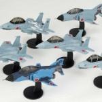 航空自衛隊の戦闘機「F-15」「F-4」がデフォルメフィギュアになってガチャに登場!