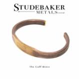 『入荷 | STUDEBAKER METALS ID Cuff Brass』の画像