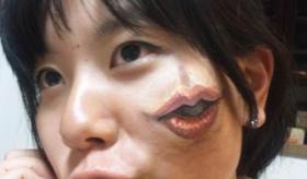 【芸術】  日本生まれの 中国人女性 による トリック ボディアート がリアルすぎて 気持ち悪いことになっている。  海外の反応