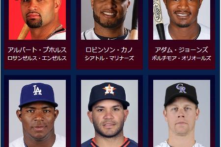 日米野球のMLB代表豪華すぎwwwwwwwwwww alt=