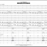 『【海外】スコア見ながら聴ける新譜紹介! 2020年ハル・レオナルド『アンダーテイルより メガロバニア』音源&スコア動画です!』の画像