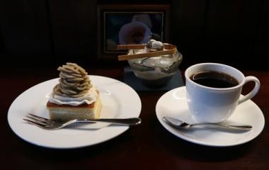 『マロンケーキ始めました』の画像
