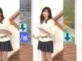 【画像】Oha!4の中田有紀アナ(40)のミニスカwwwwwwwwww