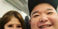 【画像】新婚・内山信二、美人妻と初めての新幹線で2ショット「ええ顔」「お似合いの夫婦