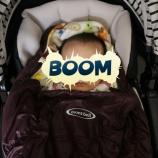 『モンベルの赤ちゃん用シュラフを使ってみた。』の画像