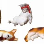 酔っぱらい犬と猫がガチャフィギュアに!「アフター5の動物たち ~またみんなで飲みましょう~」