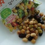 『『モラタメ.net』で『乳酸菌が入った蒸し大豆/サラダ豆』をタメしました。』の画像