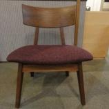 『【軽い椅子】日進木工のWHITE WOODシリーズのLDチェア MLC-364・ブラックウォールナット』の画像