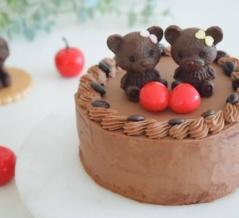チョコレートケーキ♡湯煎しないスポンジでキメ細やかに♪