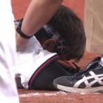 オリックス安達、牽制球が顔に当たってしまい負傷交代・・・
