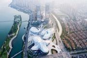 【画像】ザハ設計の巨大建築物、またしても中国に爆誕!めちゃくちゃカッコいい