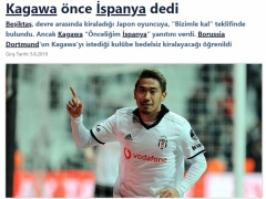 香川真司、現在スペインの2つのクラブと交渉中の模様!