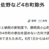 『静岡県小山町のふるさと納税返礼品「サーティーワンアイスギフト券」は2019年5月末終了が濃厚に。』の画像