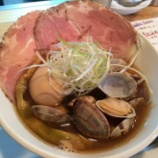 『大阪で貝ラーメン食すなら!!『クソオヤジ最後のひとふり』』の画像
