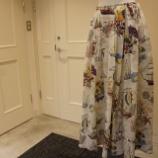 『KEITA MARUYAMA(ケイタマルヤマ)バカンスの思い出プリントスカート』の画像