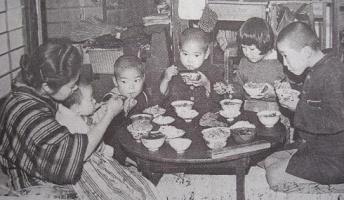 昭和の食生活は大変だったみたいだな