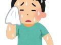 【悲報】インパルス堤下さん、汗がすごい… (画像あり)
