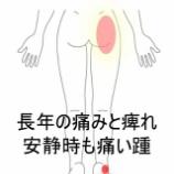 『長年の股関節のトラブル・併発した踵の痛み 室蘭登別すのさき鍼灸整骨院 症例報告』の画像