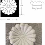 『G633 菊の紋章 彫刻』の画像