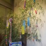 『今日のグループホーム(七夕飾り)』の画像