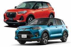 1月の車名別新車販売「ライズ」が首位! ※登録車部門