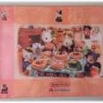 森永製菓「シルバニアファミリー ランチョンマット」はハロウィン柄。